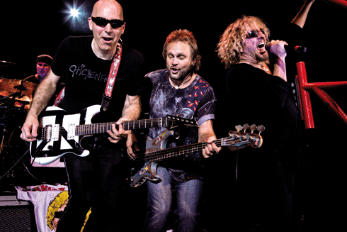 Blu-ray-Test: Chickenfoot - Get Your Buzz On Live