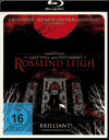 Blu-ray-Test: The Last Will and Testament  of Rosalind Leigh