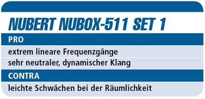 Nubert NuBox-511 Set 1 – Boxenset für 1.600 €