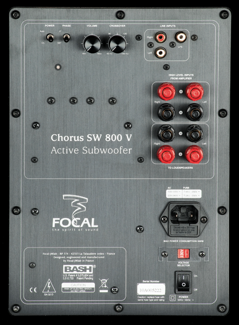 Test Focal Chorus 800
