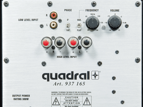 Quadral Aurum Set - 5.1-Boxenset für 6.600 €