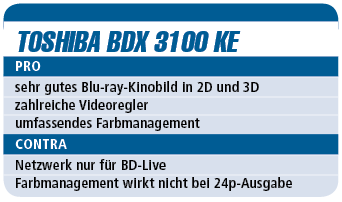 Toshiba BDX 3100 KE - Blu-ray-Player für 200 €