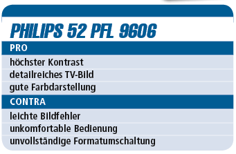 Philips 52 PFL 9606 – 3D-LED-TV für 3.000 €