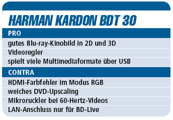 Harman Kardon BDT 30 - Blu-ray-Player für 400 €