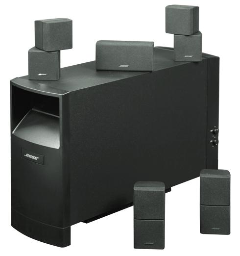 Bose Acoustimass 10 Series IV - 5.1-Boxenset für 1.280 €