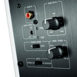 Aktiv: Der Bassbereich verfügt bei den Teufel-Frontlautsprechern über einen Verstärker.