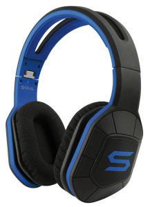 Schick: Der moderne Sportler-Kopfhörer sieht in Schwarz-Blau sehr ansprechend aus.