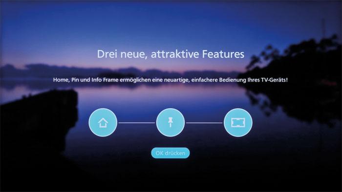 Selbst Anfänger finden sich auf der neuen Benutzeroberfläche von Firefox OS schnell zurecht. Auf Wunsch werden die neuen Bedienelemente verständlich erklärt.