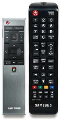 Abgelöst: Samsungs Smart Control wurde durch ein neues, schlankeres und einfacher bedienbares Modell ersetzt. Der klassische Signalgeber mit Direkttasten blieb unverändert.