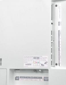 Spärlich bestückt: Die Anschlüsse des LG 65 EG 9609 werden dem stolzen Preis nicht gerecht. Auf der Rückseite stehen nur drei HDMI-Eingänge zur Verfügung, ein Twin-Tuner mit doppelter CI+ Buchse fehlt gänzlich.