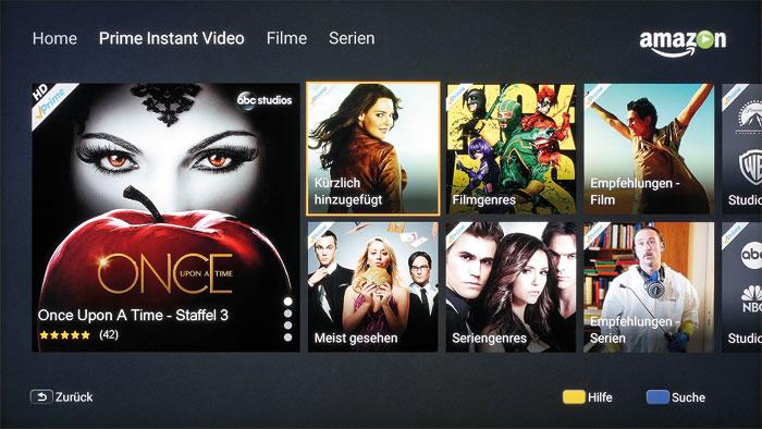 """Bald mit UHD-Angebot: Sony bereitet ein Firmware-Update vor, das neben dem 4K-Streaming in """"Amazon Instant Video"""" noch weitere Top-Funktionen mitbringt."""