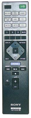 Sony STR-DN 860: Der Geber kommt mit wenigen Tasten aus, jedoch lassen sich nicht alle Eingänge direkt aufrufen.