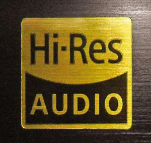 """Das """"Hi-Res Audio""""-Logo am Sony-Receiver steht für eine Reihe unterschiedlicher Funktionen."""