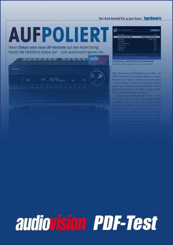Onkyo PR-SC 5508/PA-MC 5000 (audiovision 3/2011) – audiovision