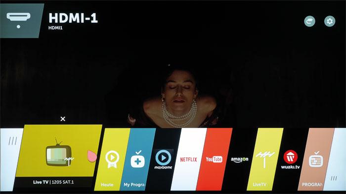 Bester Bedienkomfort: LGs webOS-Betriebssystem ist nicht nur optisch ein echtes Highlight, sondern zeichnet sich auch durch praktische Multitasking-Fähigkeiten aus.