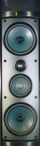 Seltenheitswert: Sowohl die Säulen LT 5A FR als auch der Center LT 5 Mk2 C sind als Dreiweg-Lautsprecher konzipiert.