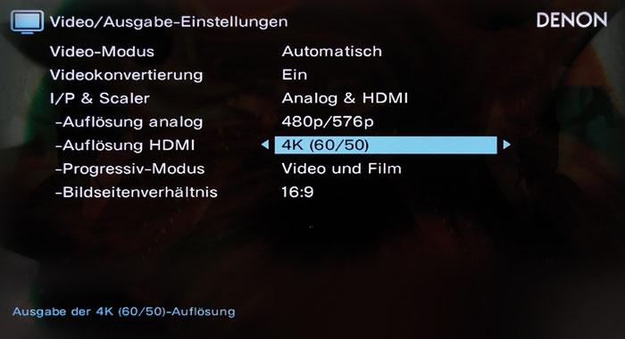 Der Videoprozessor skaliert eingehende Videosignale ins 4K-Format mit bis zu 60 Hertz Bildwiederholrate.