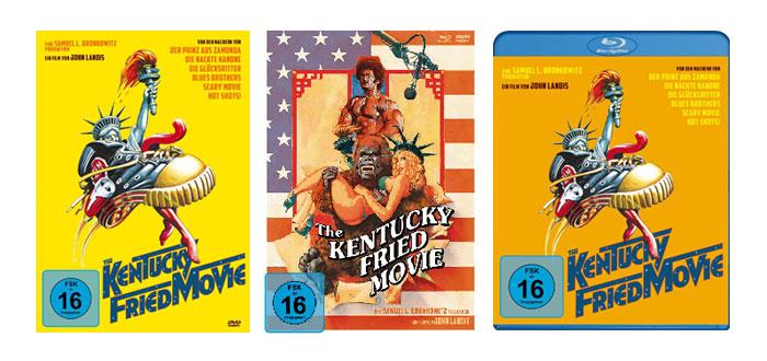Kentuck Fried Movie Covers