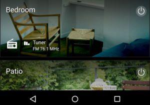 Die MusicCast-App gestattet den Zugriff auf unterschiedliche Yamaha-Geräte per Smartphone und Tablet.