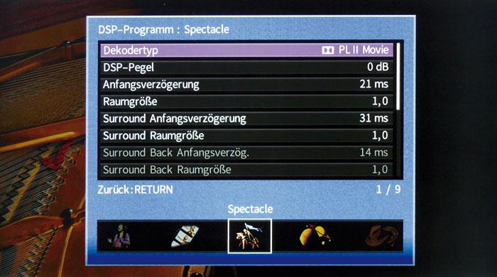 Vielseitige Manipulation möglich: Yamahas DSP-Klangprogramme kann man nach Geschmack einstellen.