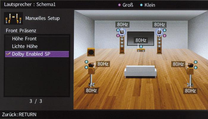 yamaha rx a2050 test audiovision. Black Bedroom Furniture Sets. Home Design Ideas