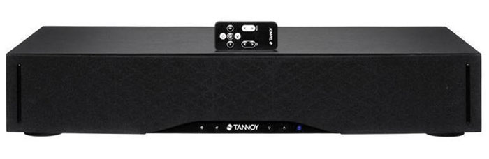 400 Euro: Mit 8,4 Kilo ist die BaseStation One von Tannoy kein Leichtgewicht. Sie kommt mit bis zu 45 Kilo schweren Fernsehern zurecht und beschert ein recht ausgewogenes Klangbild. Auf ein Display muss man aber verzichten.