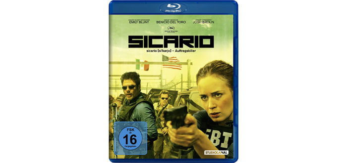 Sicario Blu-ray Cover