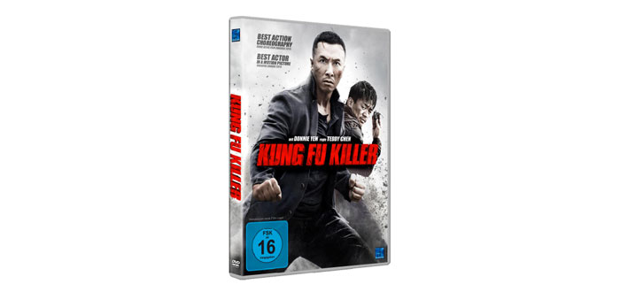 Kung Fu Killer DVD Cover