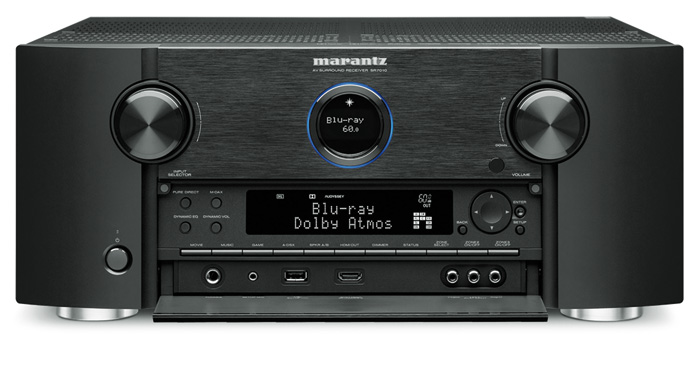 Auch der AV-Receiver SR7010 von Marantz soll bald ein dts:X-Update erhalten. Eine ausführlichen Test zum Gerät finden sie in der Ausgabe 12-2016 der audiovision.