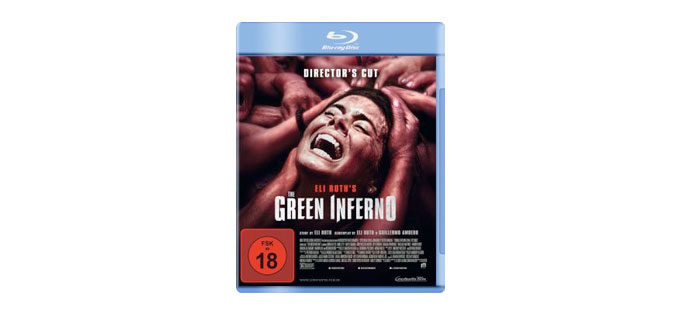 The Green Inferno Blu-ray