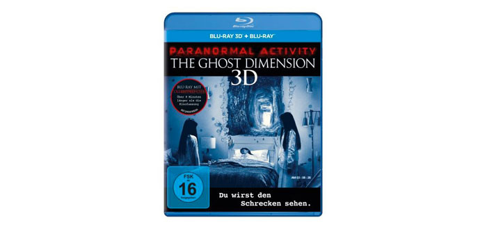 Paranormal Activity - Ghost Dimension 3D-Blu-ray