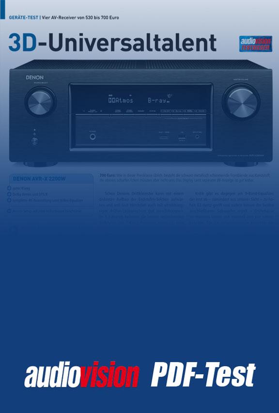 denon avr x2200w audiovision 03 2016 audiovision. Black Bedroom Furniture Sets. Home Design Ideas