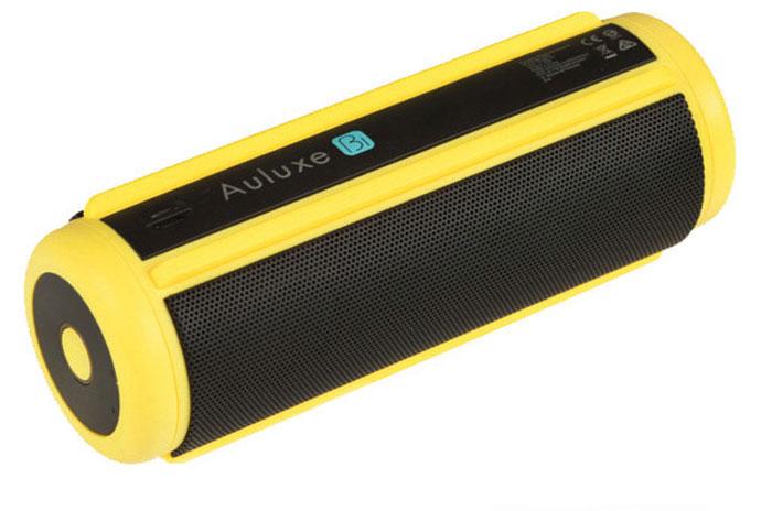 Den wetterfesten  Bluetooth-Lautsprecher im Bierdosenformat  gibt es in Rot, Pink, Gelb, Grün und Blau.