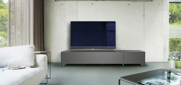 loewe und spectral entwickeln tv m bel audiovision. Black Bedroom Furniture Sets. Home Design Ideas