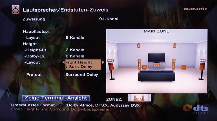 Auch Aufsatz-Boxen für Dolby Atmos und Height-Boxen lassen sich für DTS:X-Ton nutzen.