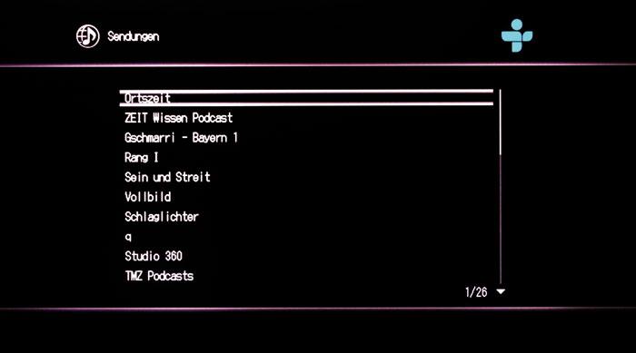 Schwierige Podcast-Suche: Archivierte Radiobeiträge werden unabhängig von den Sendern gelistet.