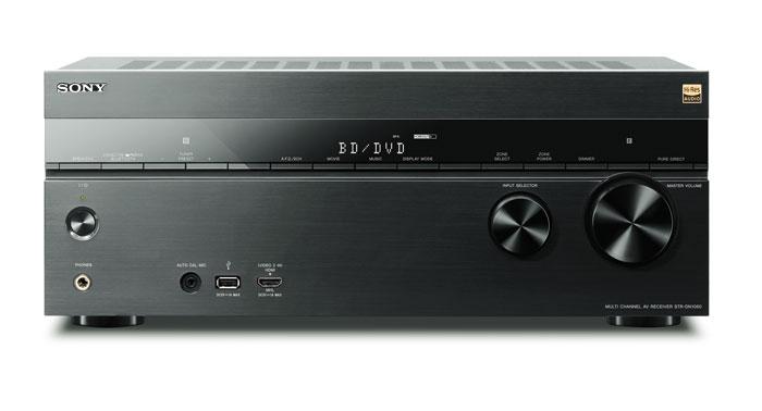 700 Euro: Die bullige und aufgeräumte Optik des ausschließlich in Schwarz erhältlichen STR-DN1060 gefällt, auch wenn die Frontblende aus Plastik besteht. Der USB- und der MHL-HDMI-Eingang an der Vorderseite sind praktisch.