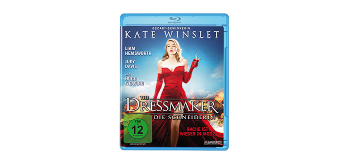 The Dressmaker (Blu-ray Cover)