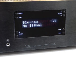"""""""No Signal"""": Liegt DTS:X-Ton an, verweigerte unser CXR200 seinen Dienst."""