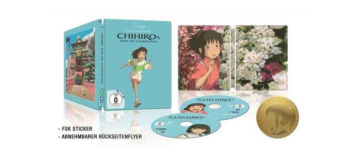 Chihiro Steelbook LE