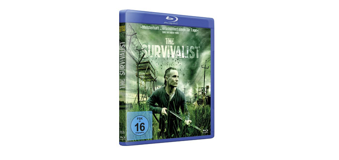 The Suvivalist Blu-ray