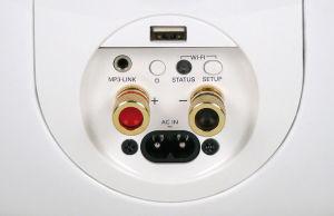 Mager: An der Aktivbox kann man neben AirPlay- Geräten nur eine analoge Audioquelle anschließen.