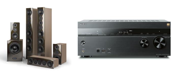Um einen Gesamtpegel von 110 dB bei einem Boxenset wie dem nuVero140 zu erreichen, muss der Receiver gerade mal 30 Watt pro Kanal leisten – das schaffen selbst Mittelklasse-Modelle wie der Sony STR-DN1060 ohne Probleme.