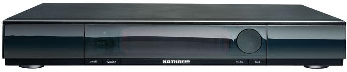 Der Kathrein UFSconnect 926 ist erstmals auf der AngaCom in Köln zu sehen. Kunden können aus zwei Varianten mit 500 bzw. 1.000 GB großer Festplatte wählen.