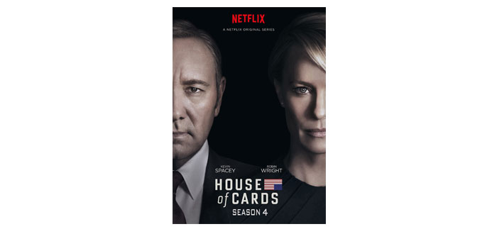 House of Cards - Staffel 4 ab 08. September 2016 auf DVD & Blu-ray