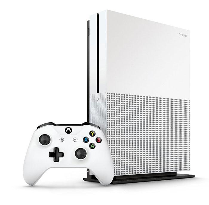 Microsofts Spielekonsole Xbox One S kommt mit UHD-Blu-ray-Laufwerk