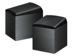 Onkyo: Nur 130 Euro kosten zwei der kleinen SKH-410-Aufsatzboxen.