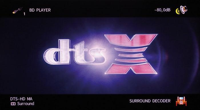 Der HD-Kern von DTS:X-Signalen kann auch via Dolby-Surround-Upmixer wiedergegeben werden.