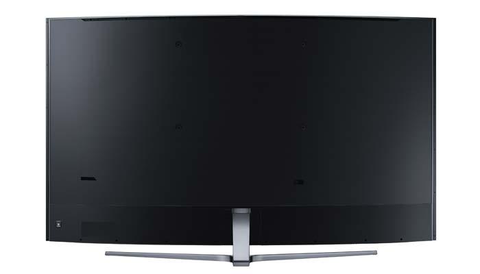 Auch die Rückseite des UE88KS9890 überzeugt dank 360 Grad-Konzept