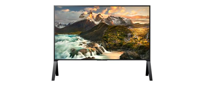 Sony ZD9 Serie mit bis zu 100 Zoll